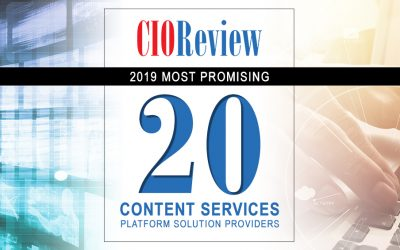 UGT Named One the 20 Most Promising Solution Providers by CIO Review